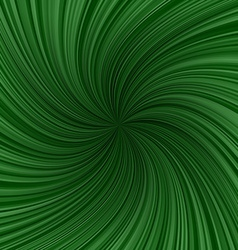 Green twirl pattern background vector