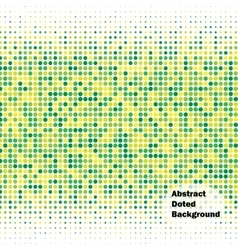 Abstract doted background vector image vector image