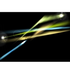 Abstract glowing shiny lights background vector