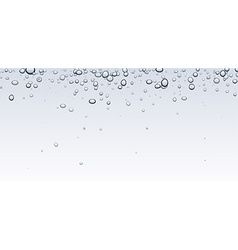 Banner with bubbles vector