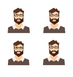 Different Emotions Man vector image