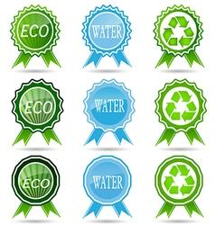 Ecology liszt summary business environmentally fri vector