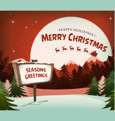 Happy christmas holidays background vector