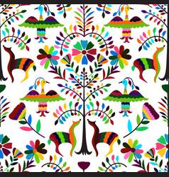 Otomi style pattern vector