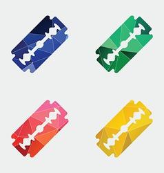 razor icon Abstract Triangle vector image