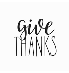 Thank you family positive quote lettering vector