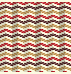 Zigzag pattern with a rippled effect vector
