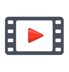 Video icon vector