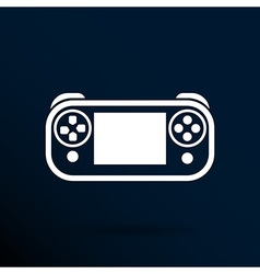Game controls video games silhouettes vector