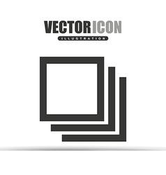 applications icon design vector image