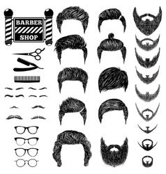 Barber set 1 vector