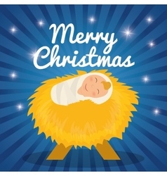 Christmas season cartoon graphic design vector image