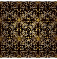 Seamless dark ornament vector image vector image