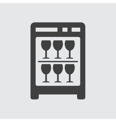 Mini bar icon vector