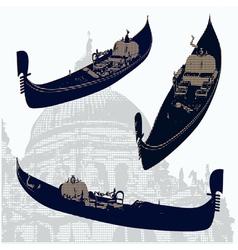 gondolas vector image
