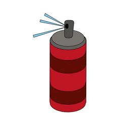 Aerosol spray icon vector