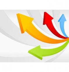 arrow7 vector image vector image