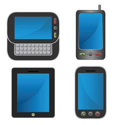 Smartphone collection vector image vector image