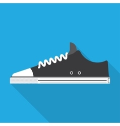 style sport sneakers shoe vector image