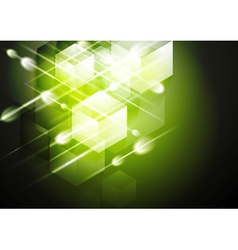 tech abstract background vector image vector image