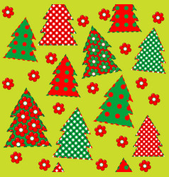 Wrapping paper for your christmas seamless vector