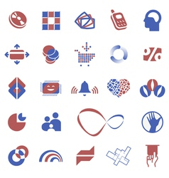 Design element icons vector