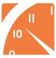 A clock segment vector