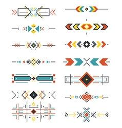 Aztec borders vector