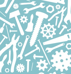 Tools seamless background vector