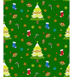 Background christmas seamless vector