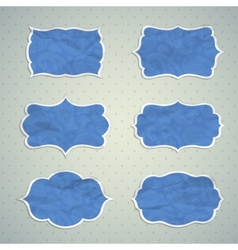 Frames in the Indian style vector image