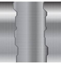 Abstract grey metallic texture background vector image