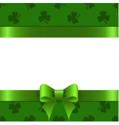 background st patrick with space for text vector image
