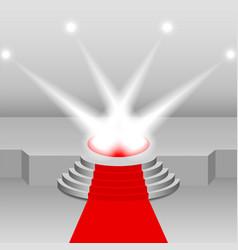 illumination of the scene vector image vector image