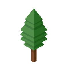 Tree plastic construction block lego construction vector