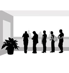 bank line vector image