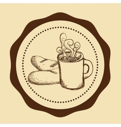 Cofee icons design vector