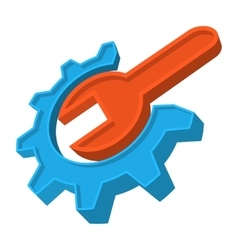 Repair cartoon icon vector