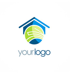 house education school logo vector image vector image