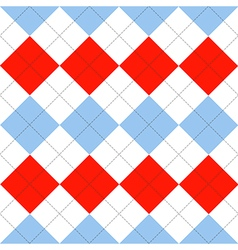 Lines dots blue serenity red white diamond vector