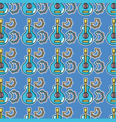 music elements to play melody background vector image vector image