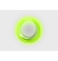 Neon light soft green vector