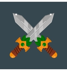 Knife weapon vector