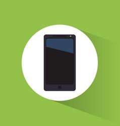 smartphone marketing tool internet business vector image