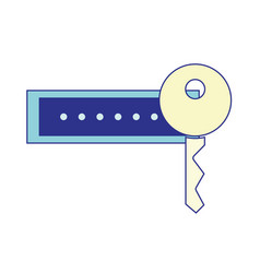 Password key to sacurity and protection symbol vector