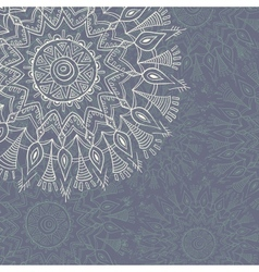 Vintage lace ornament vector image vector image