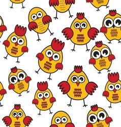 Chicken patter vector image