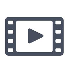 video icon vector image