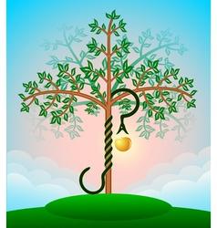 Bible tree vector