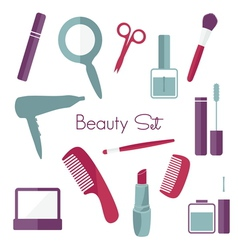 make up set2 vector image